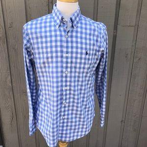 Polo Ralph Lauren Gingham Custom Fit Shirt